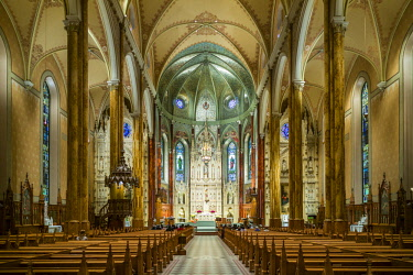 CA04322 Canada, Quebec, Montreal, Saint Patrick's Basilica