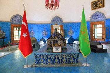 AS37EWI0752 Turkey, Marmara, Bursa, Green Mosque and tombs.
