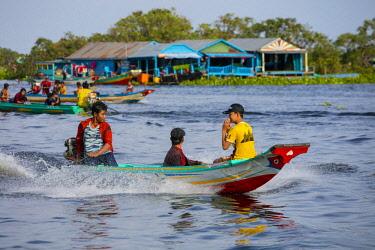 AS40DPB0132 Moat Khla, Floating Fisherman Village, Tonle Sap Lake, Cambodia