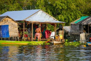 AS40DPB0136 Moat Khla, Floating Fisherman Village, Tonle Sap Lake, Cambodia