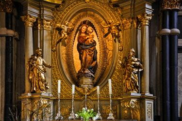 EU10HLL0087 Germany, Rhineland-Palatinate, Trier, Trier Cathedral
