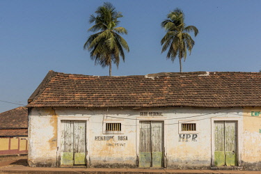 GUN0036AW Africa, Guinea Bissau. Bijagos Islands. Bolama, the old capital of Colonial Portuguese Guinea Bissau.