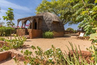 SEN1141AW Africa, Senegal, Sine-Saloum-Delta. Ecolodge Simal.