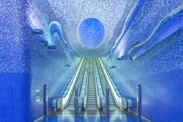 EU16RTI0552 Italy, Naples, Toledo Metro Station