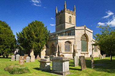 EU33BJN0541 Saint Edwards Parish Church, Stow-on-the-Wold, Gloucestershire, England