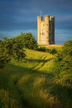EU33BJN0544 Early morning at Broadway Tower, Cotswolds, Worcestershire, England