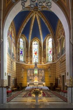 EU38BJN0043 St. Martin's Parish Church, Bled, Upper Carniola, Slovenia