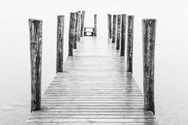 ENG15424AW Ashness jetty, Derwentwater, Cumbria, England