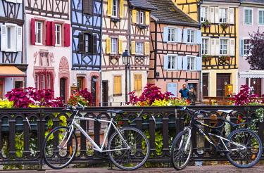 FRA10227AW The Little Venice, Colmar, Alsatian Wine Route, France