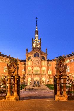 SPA7521AW Hospital de la Santa Creu i Sant Pau, Barcelona, Catalonia, Spain