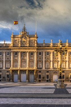 SPA7536AW Royal Palace of Madrid or Palacio Real de Madrid, Plaza de la Armeria, Madrid, Community of Madrid, Spain