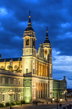 SPA7537AW Almudena Cathedral, Madrid, Community of Madrid, Spain