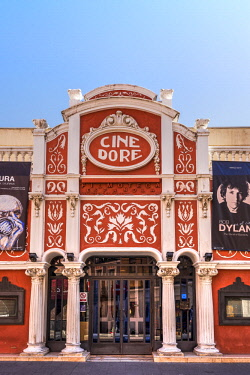 SPA7559AW The historical Cine Dore, now home of Spanish Cinematheque, Madrid, Community of Madrid, Spain