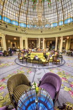 SPA7561AW La Rotonda lounge, The Westin Palace Hotel, Madrid, Community of Madrid, Spain