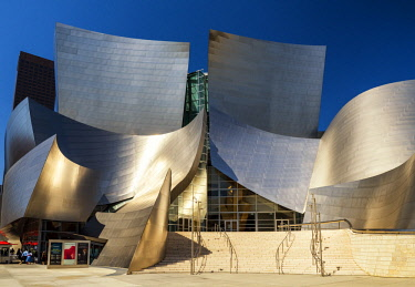 USA13180AW Disney Concert Hall, Los Angeles, California, USA