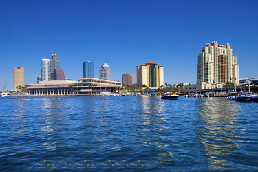 US11906 Florida, Saint Petersburg, Tampa, Downtown, Hillsborough River, Tampa Bay