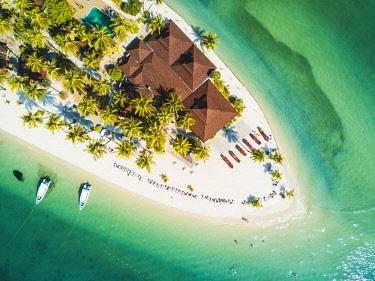 THA1368AW Ko Muk (Ko Mook), Trang Province, Thailand. Sivalai Beach Resort, aerial view (PR).