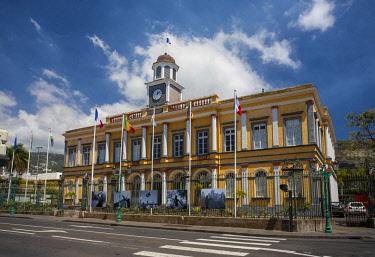 RE01079 Reunion island (French overseas department), Saint Denis, Hotel de Ville (City Hall)