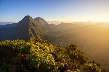 RE01090 Reunion island (French overseas department), Parc National de La Reunion (Reunion National Park), Cirque de Salazie