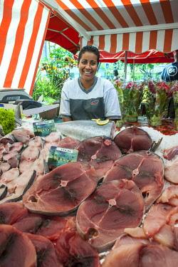 RE01125 Reunion island (French overseas department), Saint Paul, market