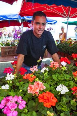 RE01126 Reunion island (French overseas department), Saint Paul, market