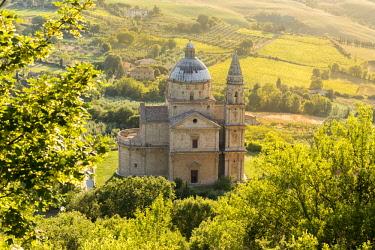 ITA12223AW Italy. Tuscany. Siena district Val di Chiana. Montepulciano. Church of Madonna di San Biagio