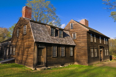 US22RBS0004 Hartwell Tavern on the Battle Road, Minute Man National Historic Park, Massachusetts, USA