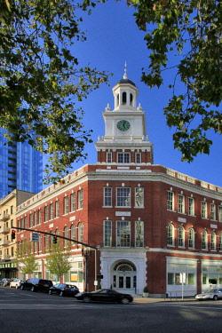 US38BJY0938 USA, Oregon, Portland. Portland Telegram building.