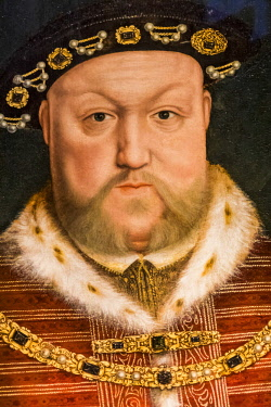 TPX63908 England, Portrait of King Henry VIII by Hans Holbein The Younger