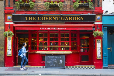 UK11453 The Covent Garden pub, Covent Garden, London, England, UK