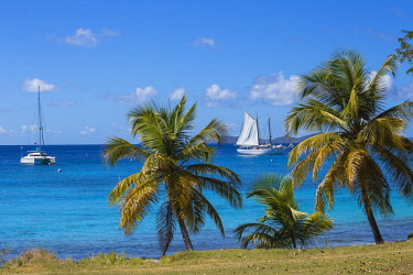 SVG01295 St Vincent and The Grenadines, Mustique, Brittania Bay beach