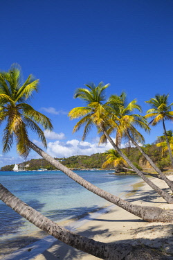SVG01304 St Vincent and The Grenadines, Mustique, Brittania Bay beach