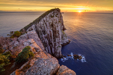 AUS3093AW Australia, Tasmania, Tasman Peninsula, Tasman National Park, Cape Hauy