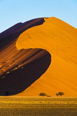 NAM6523AWRF Sossusvlei, Namib-Naukluft National Park, Namibia, Africa. Giant sand dunes.