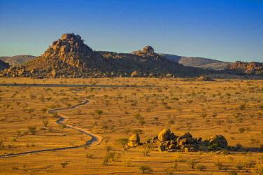IBXDRN04649024 Mountainous landscape near Twyfelfontein, Kunene region, Namibia, Africa