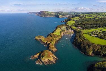 UK08279 United Kingdom, Devon, North Devon coast, coastal scenery at Watermouth Bay near Ilfracombe