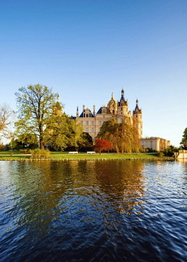 IBXOHA04375850 Schwerin Castle, Mecklenburg-Western Pomerania, Germany, Europe