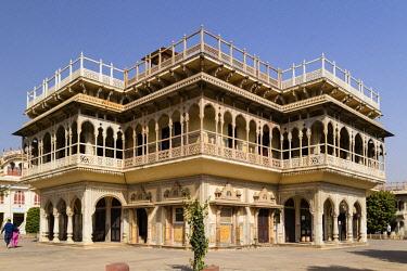 IBXOYO04331782 Mubarak Mahal, City Palace, Pink City Jaipur, Rajasthan, India, Asia