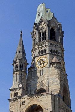 IBLSHG04214900 Kaiser Wilhelm Memorial Church, Berlin, Germany, Europe
