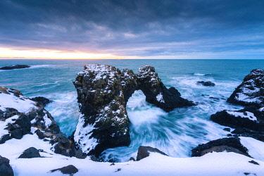 CLKST83850 Arnarstapi stacks, Snaefellsness peninsula, northern Iceland