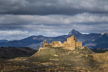 CLKAC86504 Montearagon castle, Huesca, Aragon, Spain