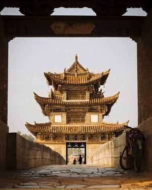CH11572AW Twin Dragon Bridge (Shuanglong Qiao), Jianshui, Yunnan Province, China