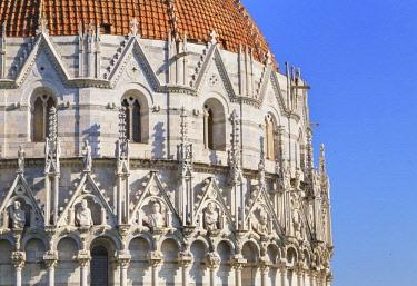 ITA12884AW Baptistery, Campo dei Miracoli, Pisa, Tuscany, Italy, Europe