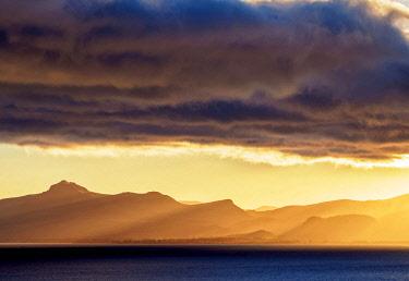 ARG2671AW Nahuel Huapi Lake at sunrise, San Carlos de Bariloche, Nahuel Huapi National Park, Rio Negro Province, Argentina