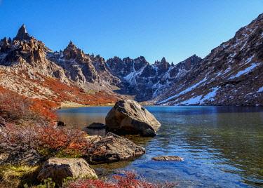 ARG2686AW Toncek Lagoon and Cerro Catedral, Nahuel Huapi National Park, Rio Negro Province, Argentina