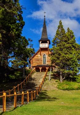 ARG2726AW San Eduardo Church, Llao Llao, Nahuel Huapi National Park, Rio Negro Province, Argentina