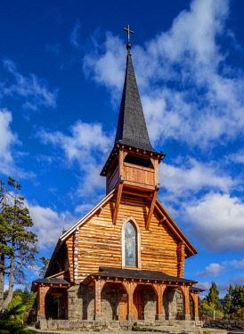 ARG2728AW San Eduardo Church, Llao Llao, Nahuel Huapi National Park, Rio Negro Province, Argentina