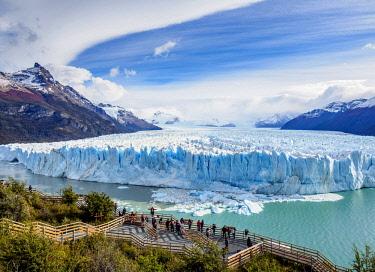 ARG2770AW Perito Moreno Glacier, elevated view, Los Glaciares National Park, Santa Cruz Province, Patagonia, Argentina