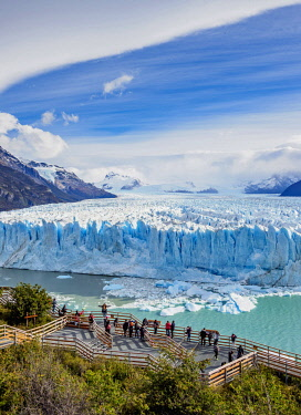 ARG2771AW Perito Moreno Glacier, elevated view, Los Glaciares National Park, Santa Cruz Province, Patagonia, Argentina