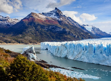 ARG2778AW Perito Moreno Glacier, elevated view, Los Glaciares National Park, Santa Cruz Province, Patagonia, Argentina